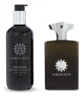 Amouage Memoir For Men набор (п/вода 100мл   гель д/душа 300мл)
