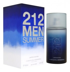 Carolina Herrera 212 Men Summer Limited Edition 2013
