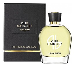 Jean Patou Que Sais-Je? Heritage Collection