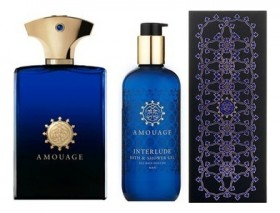 Amouage Interlude For Men набор ( п/вода 100мл  гель для душа 100мл ) набор (п/вода 100мл   гель д/душа 300мл)