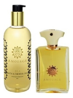 Amouage Dia For Men набор (п/вода 100мл   гель д/душа 300мл)