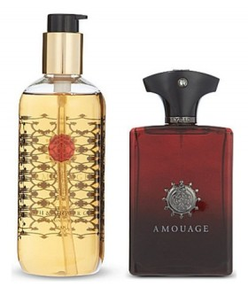 Amouage Lyric For Men набор (п/вода 100мл   гель д/душа 300мл)