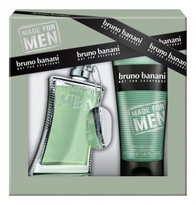 Bruno Banani Made For Men набор (т/вода 30мл   гель д/душа 50мл)