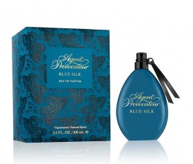 Agent Provocateur Blue Silk Woman